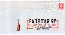 1991-flamme CUJAN-MESTRAS-33--Foire Aux Huitres  Tp  Marianne Bicentenaire Rouge 2.30F-- - Marcophilie (Lettres)