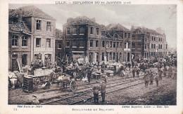 (59) Lille - Boulevard De Belfort - Explosion Du 11 Janvier 1916 - Lille