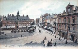 (59) Lille - La Bourse Et La Rue Des Manneliers - Lille