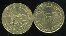 FRANCE - 1 EURO 1/2 DES CENTRES LECLERC DEMAIN L'EURO (1996) - Commémoratives