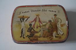 Boite à Tabac Métal Vander Elst - Boites à Tabac Vides