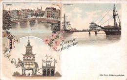 Amsterdam - Pays Bas Holland - Souvenir Van De Amsterdam - Amstel Oosterdok - Amsterdam