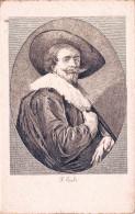 Portrait De Rubens Par Frans Hals - Gravure - Artisti