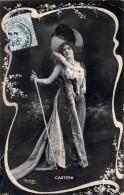 CPA Fantaisie - Castera - Jolie Jeune Femme Portait Artiste - Par Reutlinger - Art Nouveau - Women
