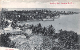 Jamaïque - Greetings From Jamaica - Ed. Lucie Hanover - Cartes Postales