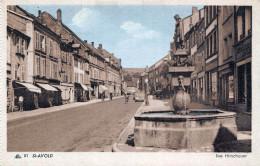 (57) St Saint Avold - Rue Hirschauer - Saint-Avold