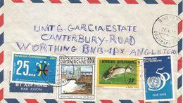 Centrafrique RCA CAR 1999 Berberati Hydrodam Electricity Francophonie UN Fish Cover - Centraal-Afrikaanse Republiek