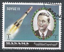 Manama. #L (U) Soyuz 11, Satellite, V.Volkov - Manama