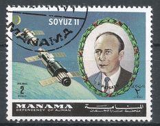 Manama. #M (U) Soyuz 11, Satellite, V. Patsafv - Manama