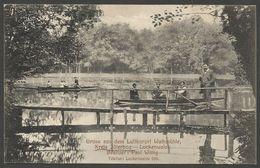 Gruss Aus Dem Luftkurort Walkmühle, Kreis Jüterborg - Luckenwalde. Besitzer: Paul Wittig. Karte Aus 1913 Mit Zugstempel. - Luckenwalde