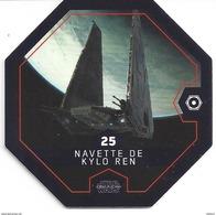 STAR WARS 2016 - Jeton Leclerc Cosmic Shells N° 25 - NAVETTE De KYLO REN - Autres Collections