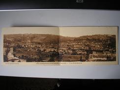 23 - CPA - CHAMBON-sur-VOUEIZE - Vue Générale - Belle Carte Panoramique Peu Commune - Chambon Sur Voueize