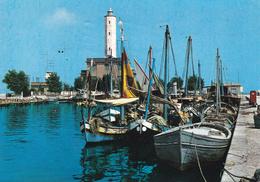 RAVENNA - Marina Di Ravenna - Porto Con Barche Da Pesca - Faro - Phare - Lighthouse - Leuchtturm - 1965 - Ravenna