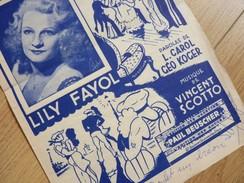 Lily FAYOL (1914-1999) Chanteuse, Danseuse, Comédienne ... AUTOGRAPHE - Autographs
