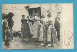 CPA Costume - Une Baruffa Di Donne - Bagarre De Femmes NAPOLI NAPLES Italie Italia - Altri