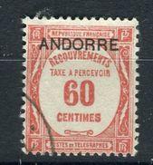 Andorre - N°Yvert Taxe 11 , Oblitéré , Sans Défauts - Ref T8 - Used Stamps