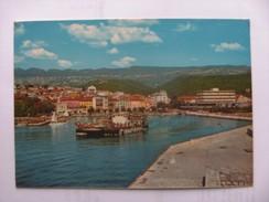 Kroatië Croatia Crikvenica City And Boat - Kroatië