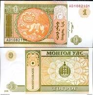 Mongolia - 1 Tugrik 2008 UNC - Mongolia