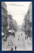 Charleroi. Rue De La Montagne. Descente. Passants. Chariot. 1910 - Charleroi