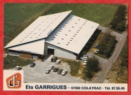 J9- 47) COLAYRAC - ETS GARRIGUES -  MENUISERIE  ALUMINIUM - SERRURERIE - ROUTE NATIONALE 113  -- (2 SCANS) - Otros Municipios