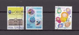 Japan 2014 - OECD & Congress On Child Abuse, Used Stamps, Michelnr. 6725-26 And 6977 - Gebruikt