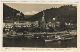 AK  Bad Schandau Dampfer  Hahn Foto Dresden Kleinformat   Ansichtskarte - Bad Schandau