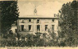 GRAMBOIS - Domaine De Prevalon Façade Du Château Animé Aux Fenêtres - Autres Communes