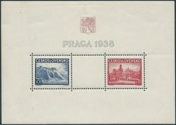 STAMPS - Czechoslovakia - CECOSLOVACCHIA - PRAGA 1938 - Very Beautiful Block - Cecoslovacchia
