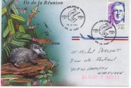 Gal De Gaulle  Ile De La Réunion   Philatelie  974 Le Port  26-3-1990 - De Gaulle (Général)