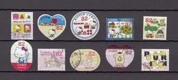 Japan 2014 - Greetings In Summer Sanrio Characters 82 Yen, Used Stamps, Michelnr. 6843-52 - Gebruikt