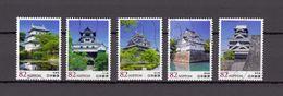 Japan 2014 - Japanese Castles 2, Used Stamps, Michelnr. 6867-71 - Gebruikt