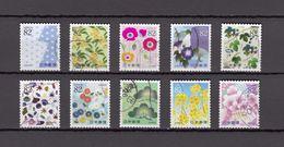 Japan 2014 - Letter Writing Day 82 Yen, Used Stamps, Michelnr. 6882-91 - Gebruikt
