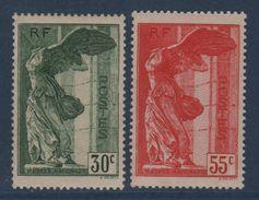 N°354 + 355 - Samothrace - Neufs Sans Charniere - Cote 420€ - Neufs