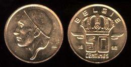 BELGIQUE - BELGIË - 50 CENTIMES - BAUDOUIN I (1998) - 1951-1993: Baudouin I