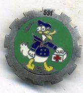 Insigne 531é Escadron De Transport Sanitaire___drago - Armée De Terre