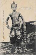 CPA Cambodge Roi Royauté Royalty Non Circulé - Cambodge