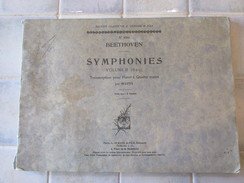 Beethoven Symphonies Volumes 2 - 6 A 9 - Piano - Classical