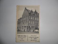 Renaix - Ronse  :   Café De La Gare Place W. Churchill - Ronse
