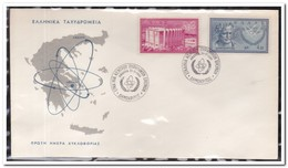 "Griekenland 1961, Nuclear Research Institute ""Democritus"" - FDC"