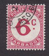 Barbados, Scott #J6, Used, Postage Due, Issued 1950 - Barbados (...-1966)