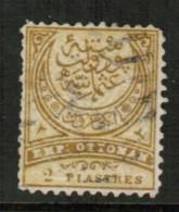 TURKEY   Scott # 70 F-VF USED - 1858-1921 Ottoman Empire