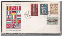 Griekenland 1962, NATO - FDC