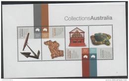 AUSTRALIA, 2015, MNH, COLLECTIONS, ART, TURTLES, ANCHORS, SHEETLET - Schildkröten