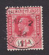 Leeward Island, Scott #65, Used, King George V, Issued 1921 - Leeward  Islands