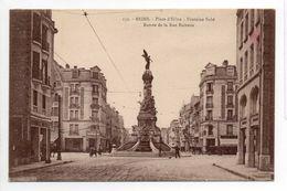 - FRANCE (51) - CPA écrite REIMS - Place D'Erlon - Fontaine Subé - Entrée De La Rue Buirette - Edition Thuillier 232 - - Reims