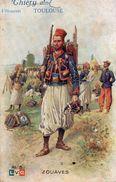 Cpa Thiéry, Zouave, Vêtements à Toulouse   (53.03) - Publicité