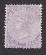 Bermuda, Scott #5, Mint Hinged, Victoria, Issued 1865 - Bermudes