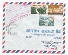 PREMIERE LIAISON PAR JET LINER SALISBURY-PARIS DU 16/9/1960 - Avions