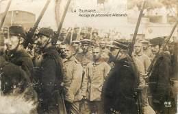 1914 - Carte-Photo - Passage De Prisonniers Allemands - Guerre 1914-18