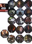 21 Jetons Star Wars Disney Distribués Par Les Magasins Leclerc - Power Of The Force